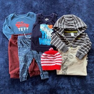 6-12 month clothing lot for baby